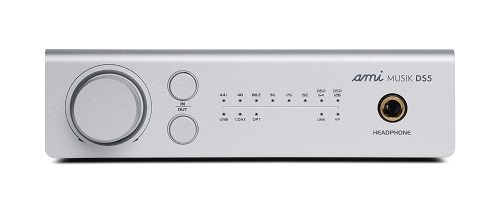AMI MUSIK DS5 USB DAC, Headphone Amp with DSD 64/128