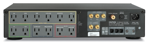 APC H15BLK AV Black 1.5kVA H Type Power Conditioner 120V
