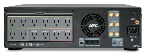 APC S10BLK AV Black  S Type Power Conditioner with Battery Backup
