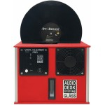 Audio Desk Systeme Vinyl Cleaner PRO LP Cleaning System (Red)