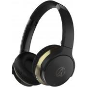 Audio-Technica ATH-AR3BTBK SonicFuel Wireless On-Ear Headphones with Mic & Control (Black)