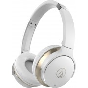 Audio-Technica ATH-AR3BTWH SonicFuel Wireless On-Ear Headphones with Mic & Control (White)