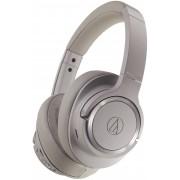 Audio-Technica ATH-SR50BTBW Wireless Over-Ear Headphones (Brown-Gray)