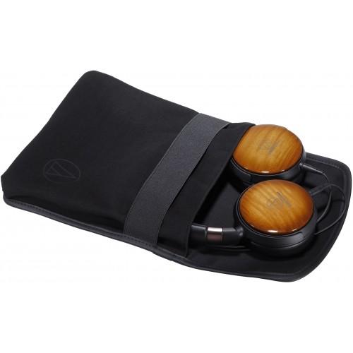 Audio-Technica ATH-WP900 Portable Over-Ear Maple-Wood Headphones