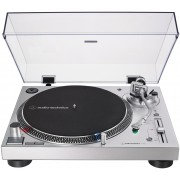 Audio-Technica AT-LP120XUSB-SV Direct-Drive Analog & USB Turntable (Silver)