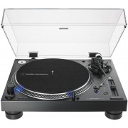 Audio-Technica AT-LP140XP-BK Direct-Drive Professional DJ Turntable (Black)