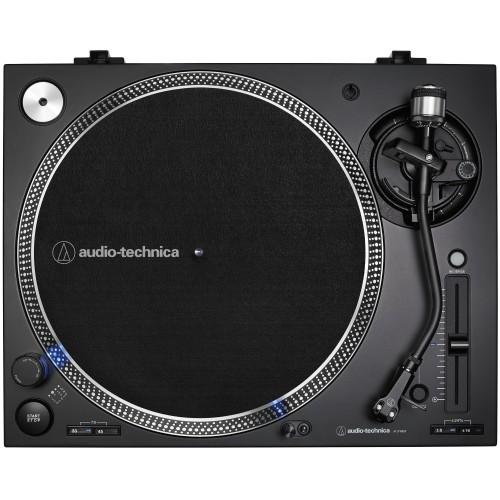 Audio-Technica AT-LP140XP-BK Direct-Drive Professional DJ Turntable (Black)