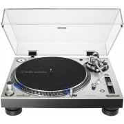 Audio-Technica AT-LP140XP-SV Direct-Drive Professional DJ Turntable (Silver)