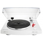 Audio-Technica AT-LP3WH Fully Automatic Belt-Drive Stereo Turntable (White)