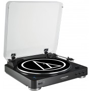 Audio-Technica AT-LP60BK-BT Fully Automatic Wireless Belt-Drive Stereo Turntable