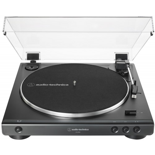 Audio-Technica AT-LP60X-BK Fully Automatic Belt-Drive Turntable (Black)