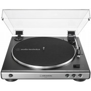 Audio-Technica AT-LP60X-GM Fully Automatic Belt-Drive Turntable (Gun-Metal/Black)