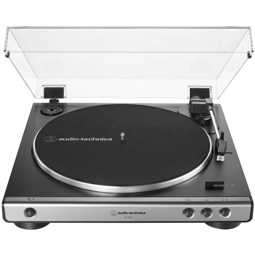 Audio-Technica AT-LP60X-GM Fully Automatic Belt-Drive Turntable (Gun-Metal/Black)