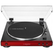 Audio-Technica AT-LP60X-RD Fully Automatic Belt-Drive Turntable (Red/Black)