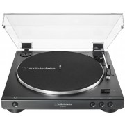 Audio-Technica AT-LP60XUSB-BK Black Fully Automatic Belt-Drive Turntable (USB & Analog)