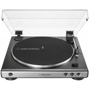 Audio-Technica AT-LP60XUSB-GM Gun-Metal Fully Automatic Belt-Drive Turntable (USB & Analog)