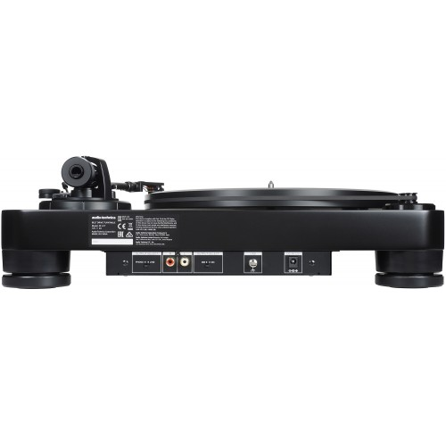 Audio-Technica AT-LP7 Fully Manual Belt-Drive Turntable (Black)