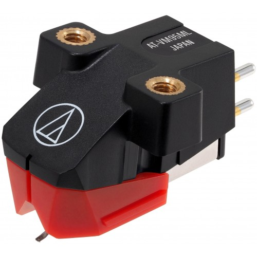 Audio-Technica AT-VM95ML Dual Moving Magnet Cartridge with Microlinear stylus