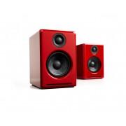 Audioengine A2+ Wireless Bluetooth Desktop Speakers (Red)