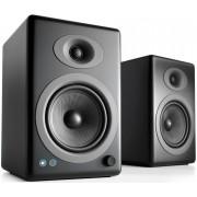 Audioengine A5+BT Wireless Bookshelf Speakers (Black Satin)