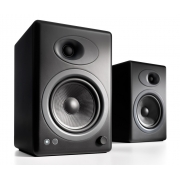 Audioengine A5+ Premium Powered Bookshelf Speakers (Satin Black)