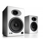 Audioengine A5+ Classic Powered Bookshelf Speakers (Hi-Gloss White)