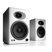 Audioengine A5+ Premium Powered Bookshelf Speakers (Hi-Gloss White)