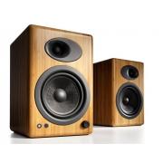 Audioengine A5+ Premium Powered Bookshelf Speakers (Bamboo)