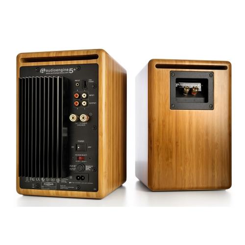 Audioengine A5+ Classic Powered Bookshelf Speakers (Bamboo)
