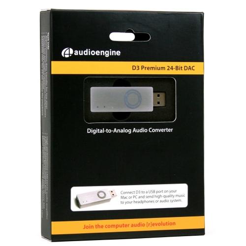 Audioengine D3 Premium Portable 24-bit DAC