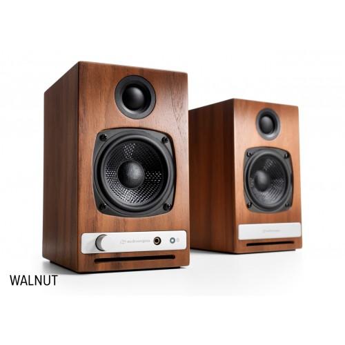Audioengine HD3 Wireless Powered Speakers (Walnut)