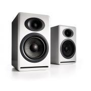 Audioengine P4 Premium Passive Bookshelf Speakers (Hi-Gloss White)
