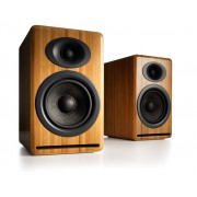 Audioengine P4 Premium Passive Bookshelf Speakers (Bamboo)