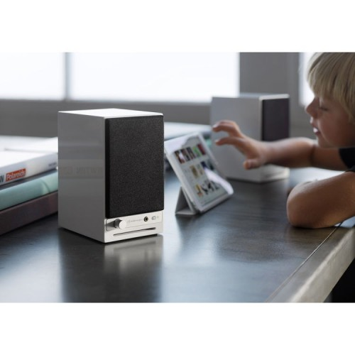 Audioengine HD3 Wireless Powered Speakers (Hi-Gloss White)