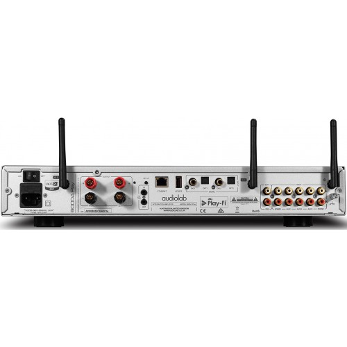 Audiolab 6000A Play integrated amp/streamer/DAC (silver)