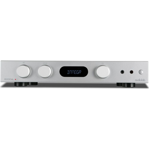 Audiolab 6000A Stereo Integrated Amp / Bluetooth DAC (Silver)