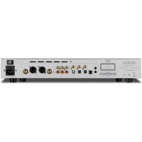 Audiolab 8300CDQ CD Player / DAC / Preamp with Analog Inputs (Silver)