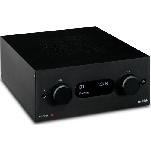 Audiolab M-ONE Stereo Integrated Amplifier (Black)