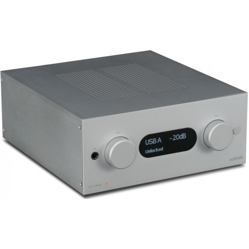 Audiolab M-ONE Stereo Integrated Amplifier (Silver)