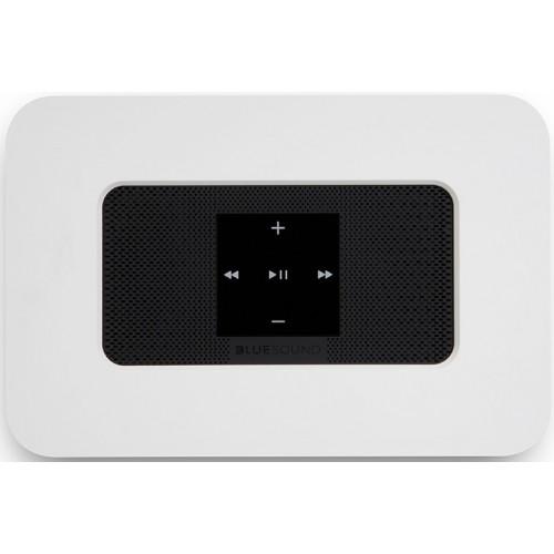 Bluesound Node 2i Wireless Multi-Room Hi-Res MQA Music Streamer (White)