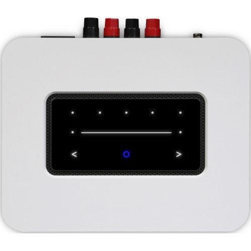 Bluesound POWERNODE Wireless Multi-Room Music Streaming Amplifier (White)
