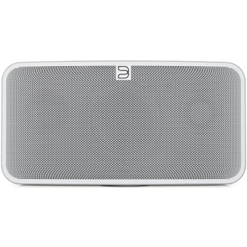 Bluesound PULSE MINI 2i Compact Wireless Multi-Room Music Streaming Speaker (White)