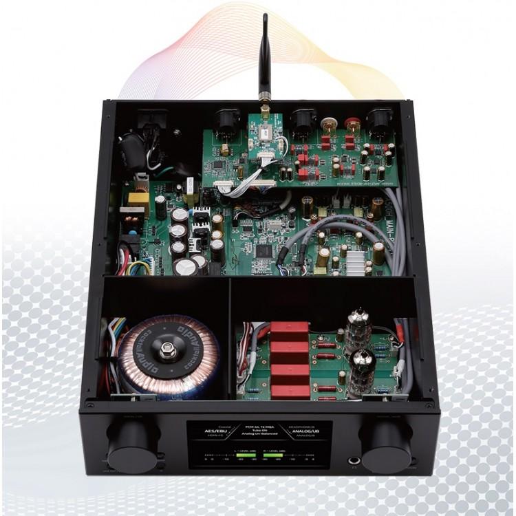 cocktail audio ha500h hybrid headphone amp preamp asynchronous usb dac black. Black Bedroom Furniture Sets. Home Design Ideas