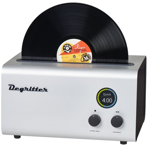 Degritter RCM Ultrasonic Record Cleaning Machine (Gray)