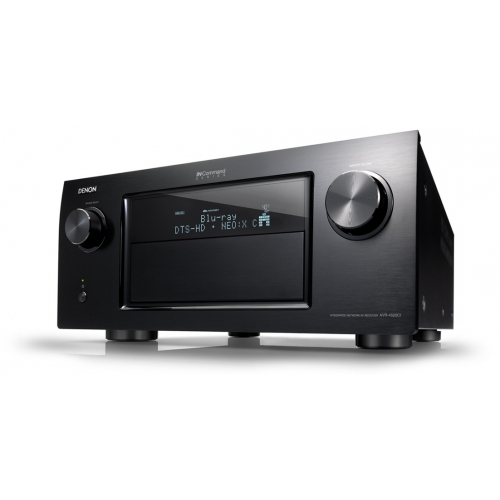 Denon AVR-4520CI AV Receiver and DBT-3313UDCI Blu-ray Player Bundle