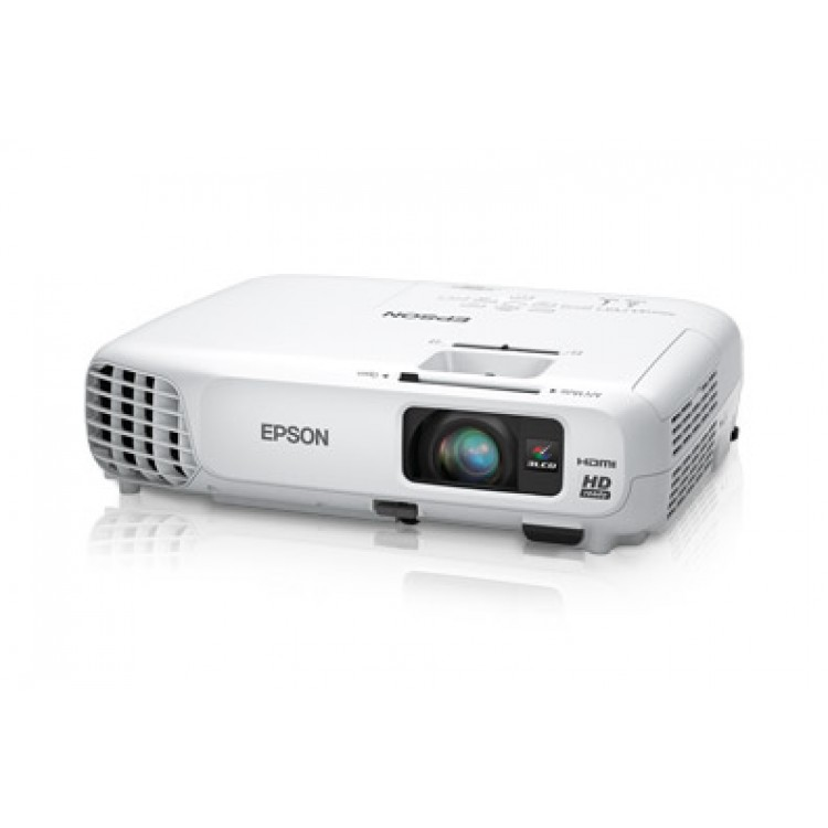 Hd Projector Full Color 720p 2400 Lumens Digital Tv Single: Epson PowerLite Home Cinema 730HD 720p 3LCD Projector