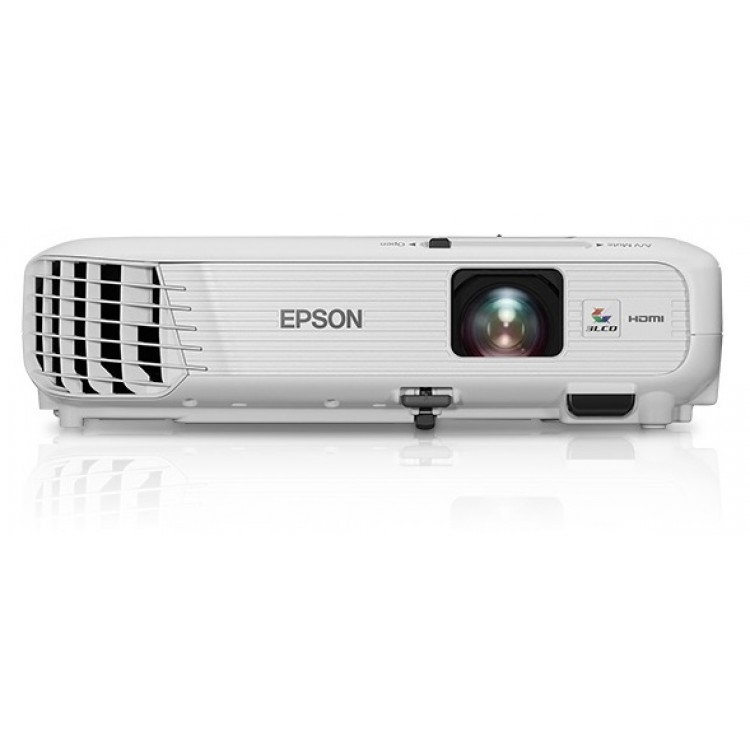 Hd Projector Full Color 720p 2400 Lumens Digital Tv Single: Epson PowerLite Home Cinema 740HD 720p 3LCD Projector