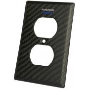 Furutech 106-D NCF non-magnetic nano-crystal Carbon-Fiber Outlet Cover