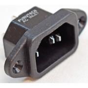 Furutech AC-INLET(R) Rhodium 15A 125V/10A 250V AC Inlet
