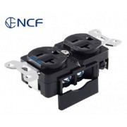 Furutech GTX-D NCF(R) Ultimate Rhodium-Plated AC Duplex Receptacle